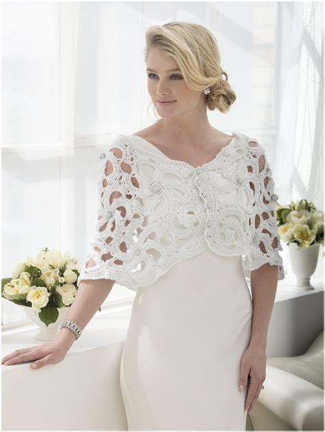 Tutorial Crochet: Coprispalle all'uncinetto per la sposa