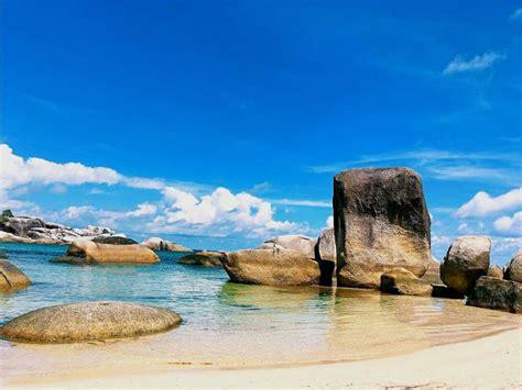 lokasi pembuatan film laskar pelangi foto pantai tanjung pantai tanjung tinggi pantainya laskar pelangi