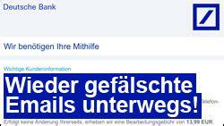deutsche bank email id vorsicht phishing quot erinnerung bitte 228 ndern sie ihren