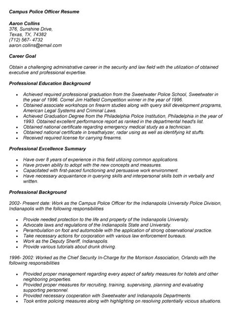 format of resume for cus entry level enforcement resume resume ideas