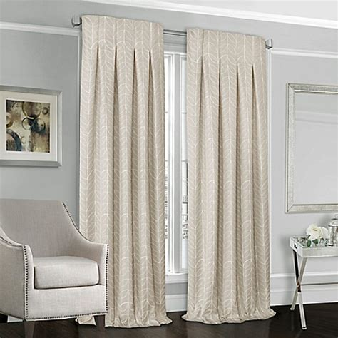select curtains designers select peyton back tab window curtain panel