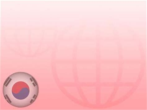 kpop powerpoint themes korea south flag 03 powerpoint templates