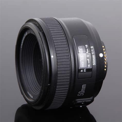 Lensa Yongnuo Yn 50mm F1 8 For Canon yongnuo yn 50mm f1 8 standard prime lens auto focus