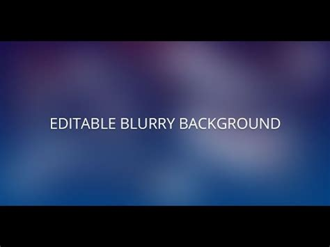 tutorial photoshop cs3 blur background photoshop tutorial editable and scalable blurred