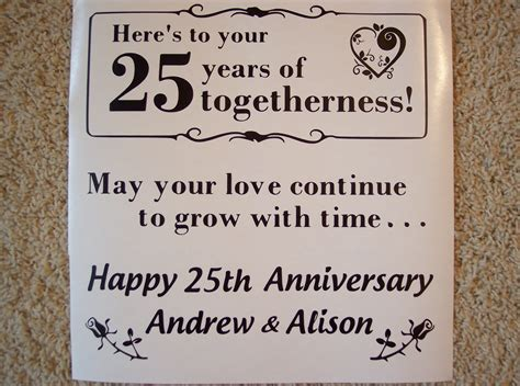 25th Wedding Anniversary Quotes by Silver Wedding Anniversary Quotes O Reilly Tiles