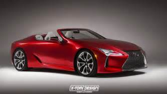 lexus lc 500 puts on convertible