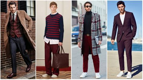 colors that go with burgundy the best clothing colour combinations for the trend