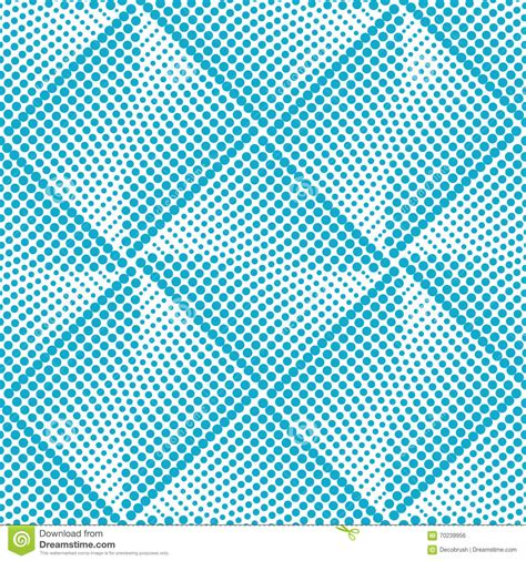 seamless halftone pattern vector seamless dot pattern halftone stock vector image