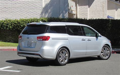 The New Kia Sedona 2015 Kia Sedona The Minivan That Isn T Review