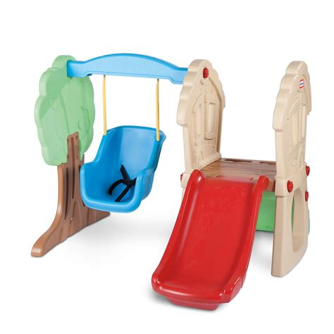 lil tikes swing and slide hide seek climber swing at little tikes