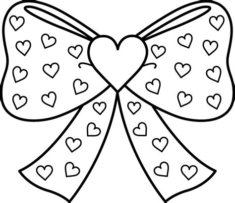 template of a bow cheer bow template printable free hair bows coloring pages