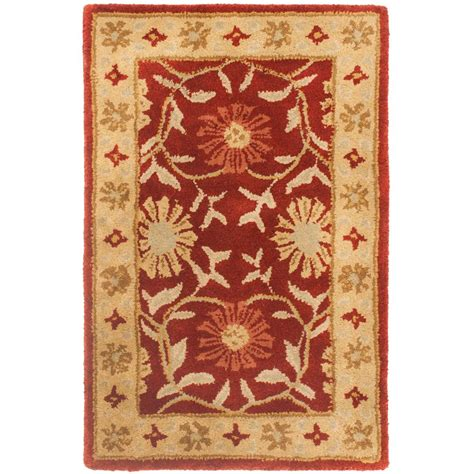 2 x 3 area rugs safavieh heritage beige 2 ft x 3 ft area rug hg970a 2 the home depot