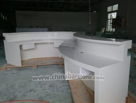 S Shaped Desk by S Shaped Modern White Color Dental Reception Desk Suplier