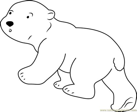 coloring pages the little polar bear look at me coloring page free the little polar bear