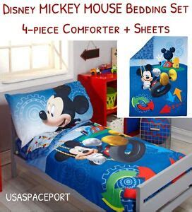 Mickey Mouse Bed In A Bag by 4pc Disney Mickey Mouse Toddler Bed In A Bag Comforter