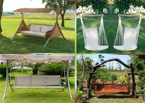 balancelle de jardin 32 exemples pour votre espace ext 233 rieur