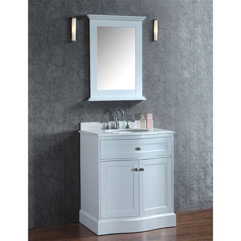 30 inch single sink bathroom vanity ace montauk 30 inch single sink bathroom vanity set alpine