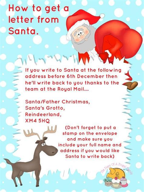 printable letter back from santa free printables letter to santa templates and how to get