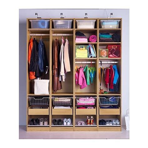 Pax Komplement Wardrobe by Komplement From Mud Room Wardrobe