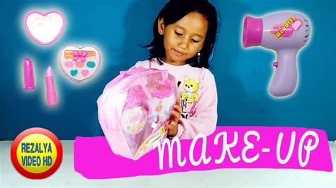 tutorial rambut anak perempuan mainan anak perempuan make up toy set make up tutorial for