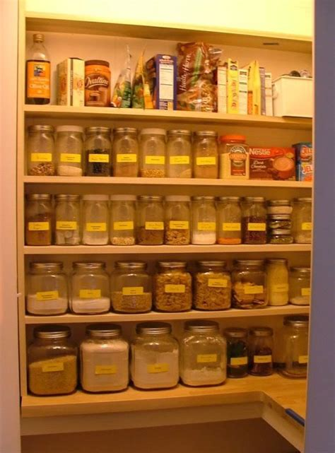 Glass Pantry Storage by Pin By Beyer On Organized Home