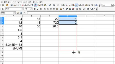 tutorial excel open office openoffice calc 4 tutorial 4 formulas and calculations