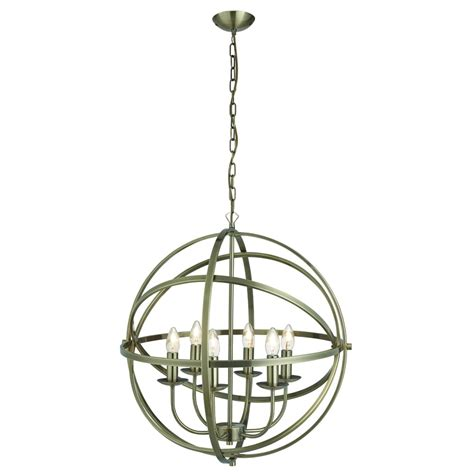 searchlight lighting orbit 6 light ceiling pendant light