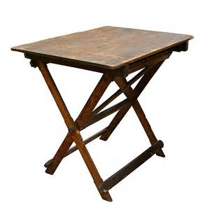 Folding Drafting Table Solid Wood Folding Drafting Table Mills Architectural Salvage