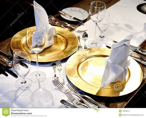 Fancy Place Setting Stock Photo Image Of Folded Fancy   fancy table settings stock photo image of wine forks