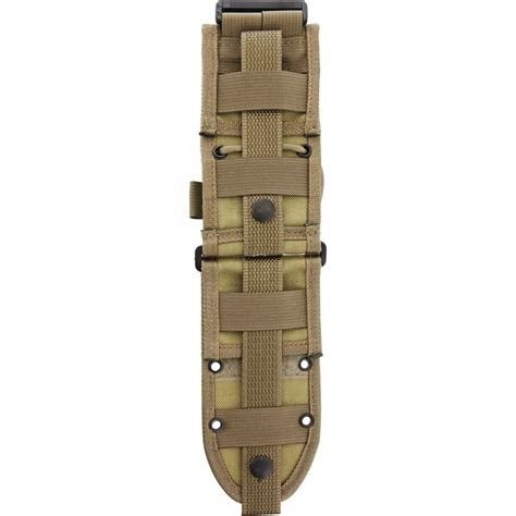 es52mbk esee molle back knife sheath khaki