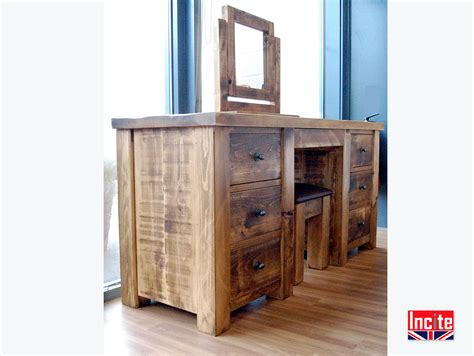 Handcrafted Pine Furniture - large handcrafted dressing tables by incite interiors derby