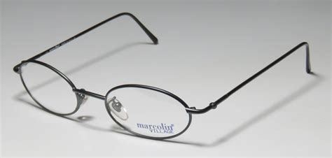 new marcolin 66 casual affordable oval eyeglass