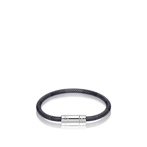 keep it bracelet damier graphite accessories louis
