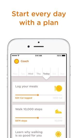 noom couch apps to help you lose weight for android and ios