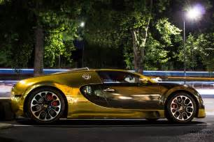 Bugatti In Gold Photocutout Gold Bugatti Veyron Grand Sport