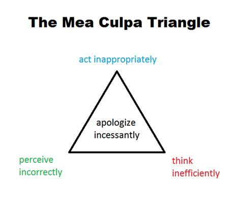 libro culpa ma 2 culpa the mea culpa triangle