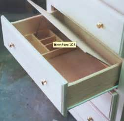 false bottom drawer furniture compartment stashvault