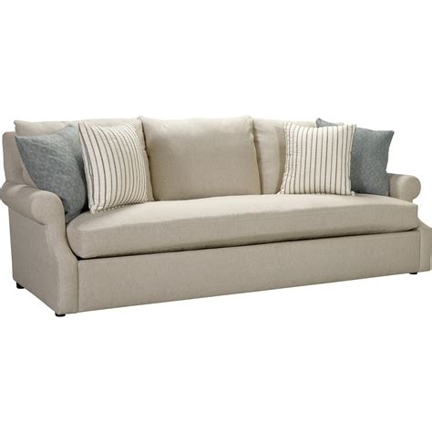 broyhill furniture willa casual sofa with single seat