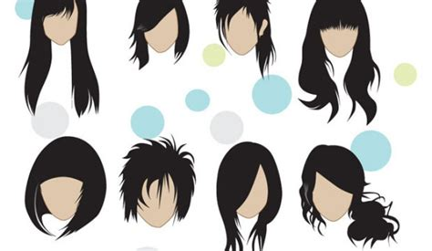 preview hairstyles on yourself like this vector share it with friends