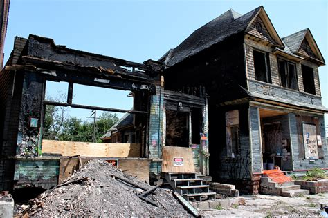 house burnt down burned down house in detroit urbex photos snake oil salesman