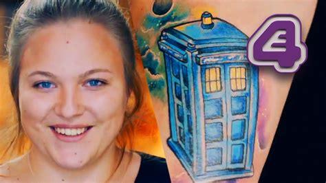 tattoo fixers youtube doctor who fan s touching memorial tattoo to mum tattoo