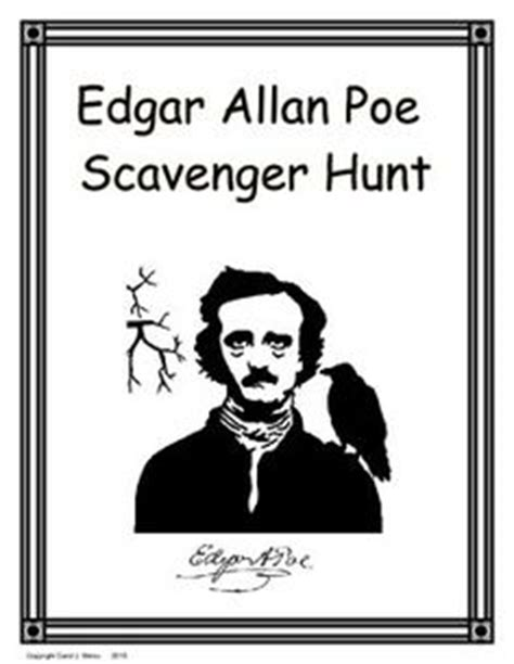 edgar allan poe biography and questions washington d c scavenger hunt washington a student