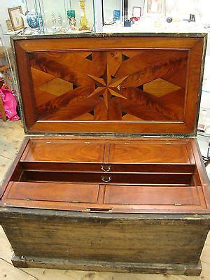 antique victorian carpenters cabinet makers tool chest