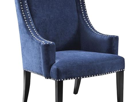 Navy And White Accent Chair Navy Blue Slipper Chair Home Design Ideas