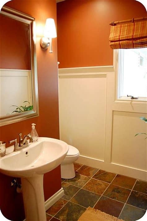 Orange Bathroom Ideas Best 25 Burnt Orange Bathrooms Ideas On Orange Bathroom Paint Brown Dining Room