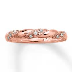 rose gold kay diamond ring 1 20 ct tw round cut 10k rose gold