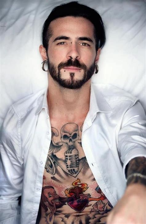 guys with beards and tattoos 47 best images about alternative male models on pinterest