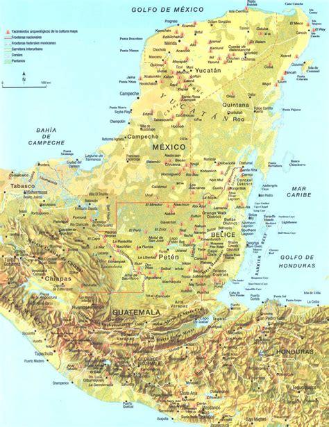 mayan ruins map map though ruins in san mateo ixtatan are missing