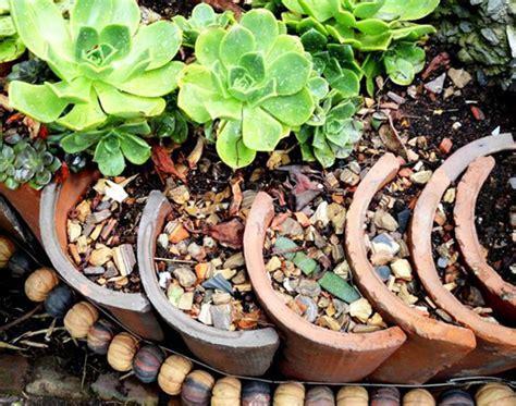 Garten Gestalten Mit Dachziegeln by Garten Gestalten Mit Kreativer Rasenkante Und