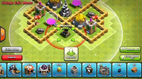 clash of clans town hall 5 farming defense best base layout clash of clans new best town hall 5 defense strategy